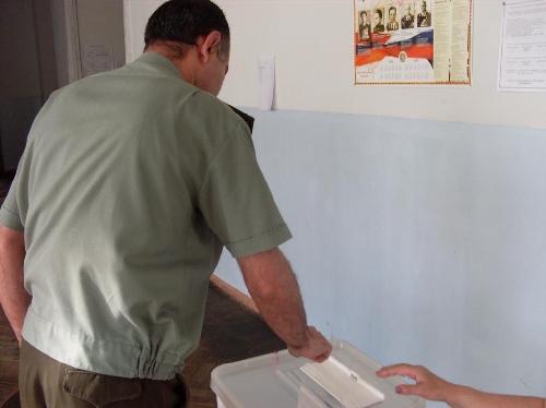 Վստահված անձ. «Թիվ 12/07 ընտրատեղեմասում քվեարկությունը սկսել է առանց խախտումների»
