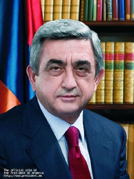 Послание президента Сержа Саргсяна в связи с выборами авагани Еревана