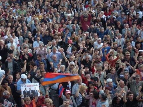 АНК не принимает результаты выборов 31-го мая