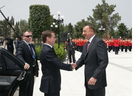 Россия, Азербайджан, «Набукко»