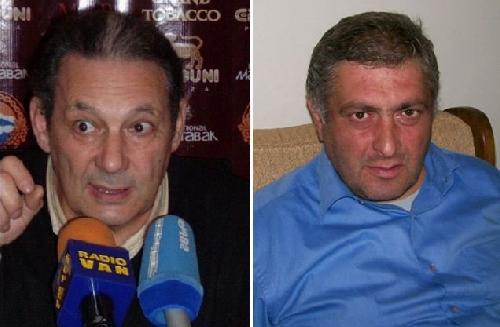 «Хаммер», Агарон Адибекян и Геворик.
