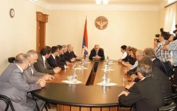 Встреча с делегациями, возглавляемыми послами Армении и Азербайджана в России