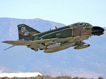 В Турции разбился американский истребитель F-4 Phantom