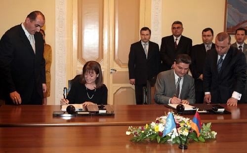 ՀՀ կառավարությունը և ՄԱԿ-ը ստորագրել են համագործակցության ծրագիր