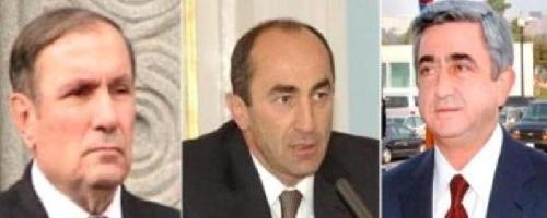 Борьба трех президентов РА