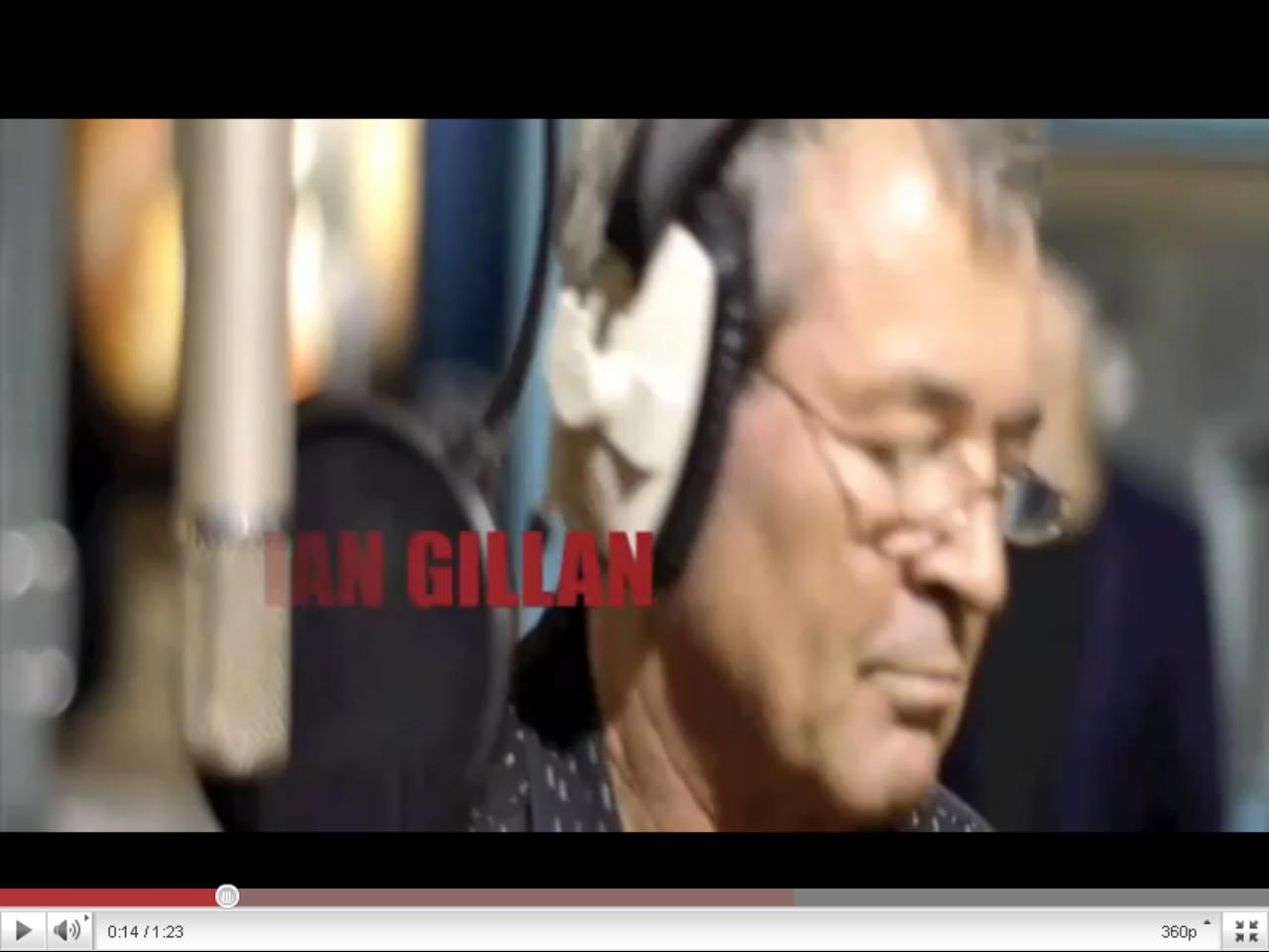 Промо-видео новой песни Иэна Гиллана и Тони Айомми «Out of My Mind»