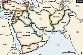Ադրբեջանը Ռալֆ Պիտերսի հոդվածում և քարտեզներում