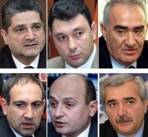 Адвокаты Сержа Саргсяна
