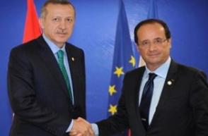 Էրդողանը Ֆրանսուա Օլանդին հրավիրել է Թուրքիա