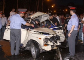 Հայաստանում 8 ամսում ավտոպատահարների հետևանքով զոհվել է 176 մարդ