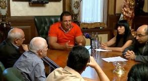 ԲՀԿ հանդիպումը ազատամարտիկների հետ