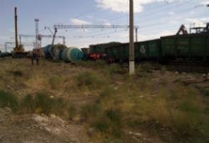 Շրջվել են վառելիք տեղափոխող գնացքի վագոնները