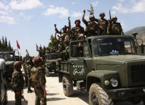 Сирийские войска перешли в наступление под Алеппо