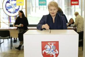 На выборах президента Литвы будет второй тур