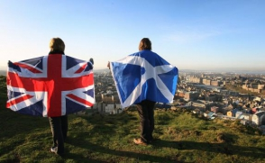 Шотландцы предпочли остаться в составе Великобритании