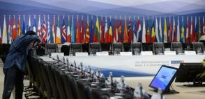 Այսօր ԵԱՀԿ նախարարների խորհրդի նիստի գլխավոր թեման կլինի ահաբեկչության դեմ պայքարը