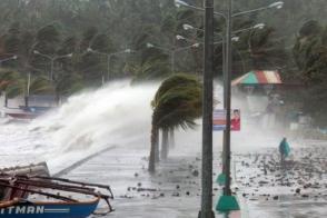 Ֆիլիպիններում թայֆունի պատճառով ավելի քան 1 մլն մարդ տարհանվել է