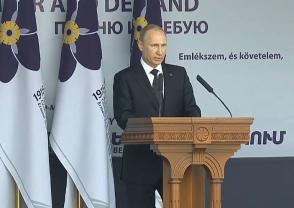 Վլ. Պուտին. «Այսօր սգում ենք հայ ժողովրդի հետ միասին» (տեսանյութ)