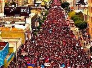 В Лос-Анджелесе прошло шествие памяти жертв Геноцида армян (фото)