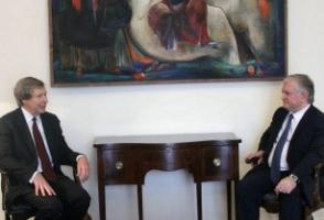 ՀՀ ԱԳ նախարարն ընդունել է Ջեյմս Ուորլիքին