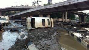 Խոշոր ջրհեղեղ Թբիլիսիում. կան զոհեր (լուսանկարներ, տեսանյութ)