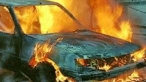 Վանաձորում այրվել է ավտոմեքենայի շարժիչի հատվածը