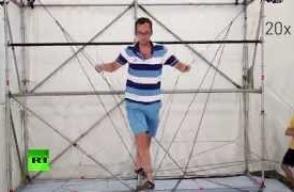 Գիտնականներն անօդաչուների միջոցով թելից կամուրջ են սարքել