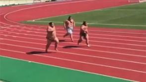 Ծանր պայքար. սումոյի վարպետները վազելիս