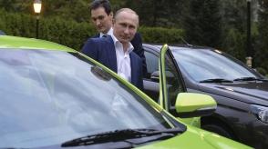 Պուտինը նոր Lada է փորձարկել Սոչիում