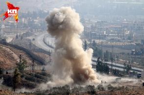 Новые кадры боевых действий в Сирии