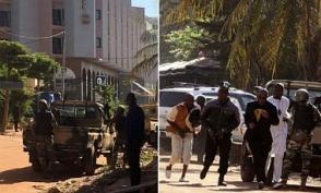 Из захваченного отеля в Мали освободили около 80 заложников (видео)