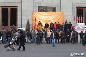 Ազատության հրապարակից մեկնարկել է «Նոր Հայաստանի» երթը