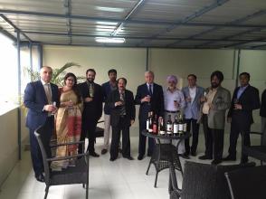 ՀՀ գյուղատնտեսության նախարարը Հնդկաստանում հանդիպել է գյուղտեխնիկա արտադրողների հետ