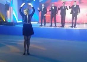 Զախարովան «Կալինկա» է պարել Սոչիում