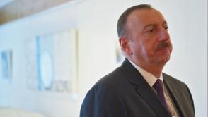 Алиев: «Статус-кво в Карабахе неприемлем, нужно вывести армянские войска»