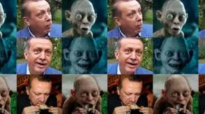Сравнивший Эрдогана с Голлумом турок получил год тюрьмы условно