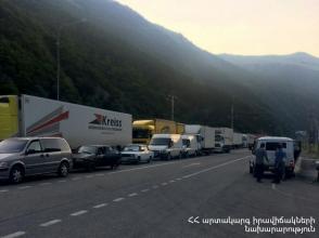 Լարսի ավտոճանապարհը բաց կլինի այսօր՝ ժամը 06.00-20.00–ն