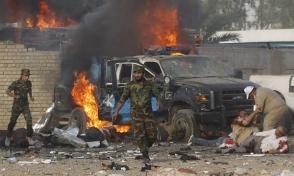 Բաղդադում մահապարտ–ահաբեկչի պայթյունի հետևանքով 14 մարդ է զոհվել