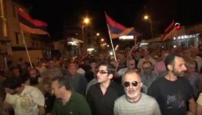Երթի մասնակիցները վերադարձան Խորենացի փողոց (ուղիղ միացում, լրացված)