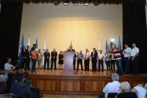 ՀԱՄԱԽՄԲՈՒՄ կուսակցությունը Գյումրիում ներկայացրել է ավագանու ցուցակը (տեսանյութ, ֆոտոշարք)