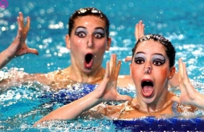 Սինքրոն լողորդուհիների ամենածիծաղաշարժ լուսանկարները (ֆոտոշարք)