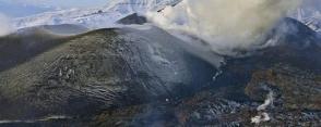 Ալյասկայում Բոգոսլով հրաբուխն 9 կմ–ոց մոխրի շիթ է արձակել