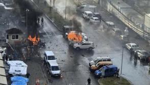 Ահաբեկչություն Իզմիրում․ պայթյունի պահն արձանագրել են տեսախցիկները (տեսանյութ)