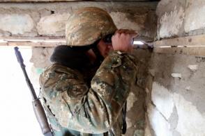 Հյուսիսային ուղղությամբ ադրբեջանական զինուժը կիրառել է 82 միլիմետրանոց ականանետ