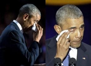 Հրաժեշտի երեկոյի ընթացքում Օբամայի կրտսեր դուստրը հոր կողքին չի եղել (ֆոտոշարք)