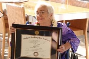 Հավայիի 94–ամյա բնակչուհին բարեհաջող հանձնել է քննություններն ու բակալավրի աստիճան ստացել(տեսանյութ)