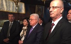 Պաղեստինի նախագահը Բեթղեհեմում մասնակցել է Հայ եկեղեցու կազմակերպած Սուրբ Ծննդյան տոնին