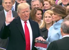Дональд Трамп официально стал 45-м президентом США (видео)