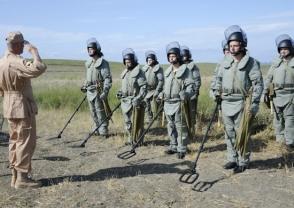 ՀՀ ԶՈւ ինժեներական զորքերի զինծառայողները վերապատրաստվում են Ռուսաստանում