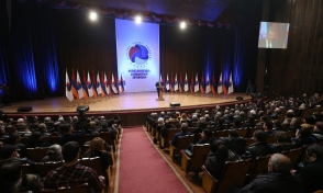 Съезд альянса «Оганян-Раффи-Осканян» (видео)